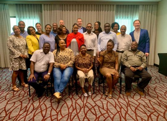 Group-picture Training Course on Inequality in Southern Africa
